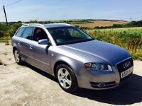 AUDI A4 SE 2.0 TDI ESTATE BLUE 2005 DIESEL