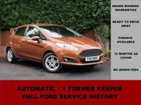 2013 Ford Fiesta 1.6 POWERSHIFT ZETEC 105PS, PETROL, AUTOMATIC, ALLOYS,