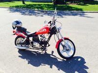 50cc scooter softail