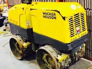 ONLY 35 HOURS! WACKER NEUSON REMOTE CONTROLLED PACKER!!