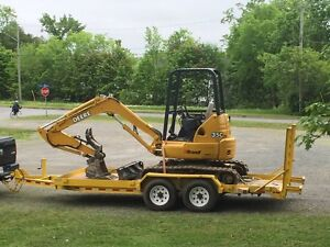 Mini Excavator for Rent.