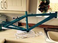Da Bomb Sputnik jump mountain bike frame