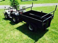 Remorque pour VTT, trailer for ATV's (1399 $)