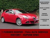 2011 Alfa Romeo Giulietta 1.6 JTDM-2 VELOCE 105BHP, DIESEL, RED, MANUAL,