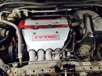 Honda civic type r 2.0 16v VTec engine 2004 plate