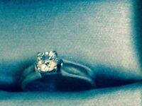 Used Engagement Ring & Wedding Band
