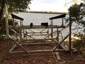 5000 LB boat lift / boat hoist for sale Peterborough Peterborough Area image 2