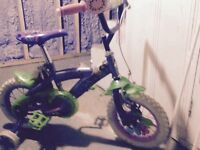 """Bicycle 12"""" tinkerbell clochette"""
