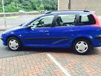 2003 Peugeot 206 Sw XT estate