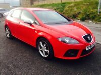 2006 Seat Leon 2.0 TDI DPF FR 170 BHP p/x welcome Ful Dealer History+Cambelt Done Swap P.x Welcome