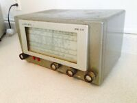 Vintage 1940's Hillicrafters S38 Short Wave Tube Radio Receiver