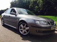 2006 Saab 9-3 vector sport 1.9 Tid 150 Bhp 6 speed # full leather # parking sensors # fsh
