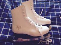 Size 13 youth figure skates