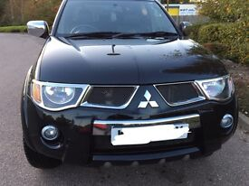 Mitsubishi L200 Raging Bull Edition 2009 in black