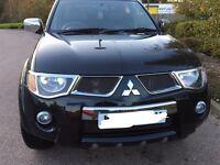 Mitsubishi L200 Raging Bull Edition 2009 in black