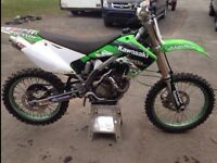 2005 kx250f. Trade for yz250f or 450f.