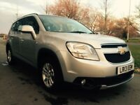 Chevrolet Orlando 2.0 VCDI LT 130PS Good / Bad Credit Car Finance (black) 2013