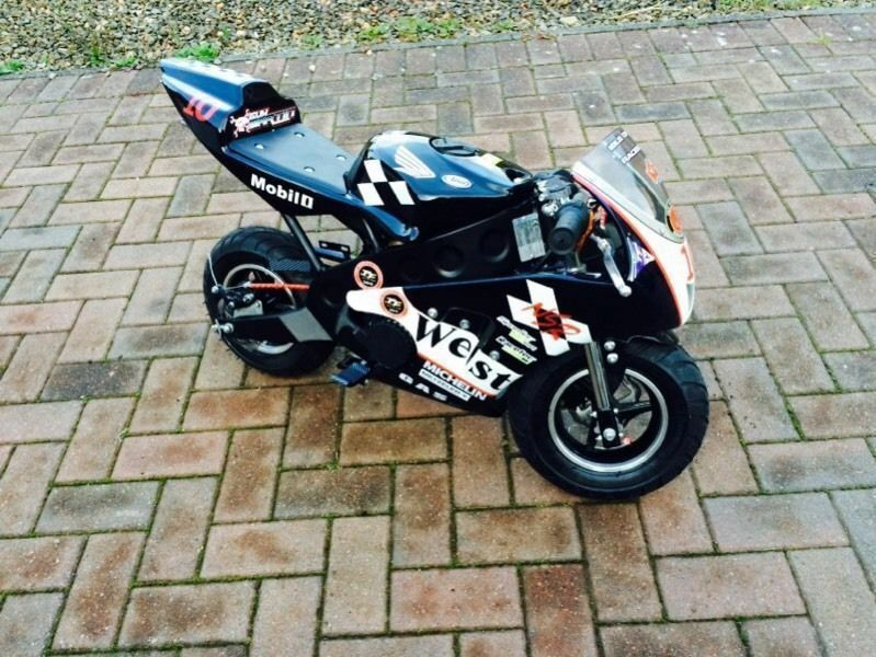 Mini Moto West 50cc Brand New 2015 Model Swap For Kids Quad In
