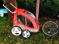 Bike and little tikes trailer