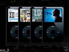 120 GB +2000mah battery iPod Classic 5th Gen Black Player [ U2 Special Edition ]