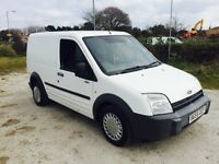 FORD TRANSIT CONNECT L 200 1.8 TDDI SWB WHITE 2005
