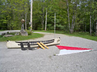 1995 Sportspal 14 foot Canoe With Sail