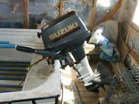 Outboard and boat for sale