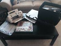 Huge lot of scrapbook supplies and Cricut with cartridge