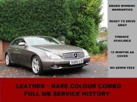 2005 Mercedes CLS CLS350, PETROL, AUTO, GREY, CREAM LEATHER, W219