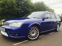 Ford Mondeo 2.2 TDCi SIV ST 5dr ##PERFORMANCE BLUE## RE-MAPPED ##REAR TV SCREENS ##SUNROOF