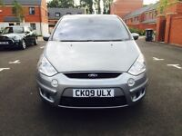 FORD S-MAX TITANIUM TDCI 2.0 DIESEL MANUAL 7 SEATER