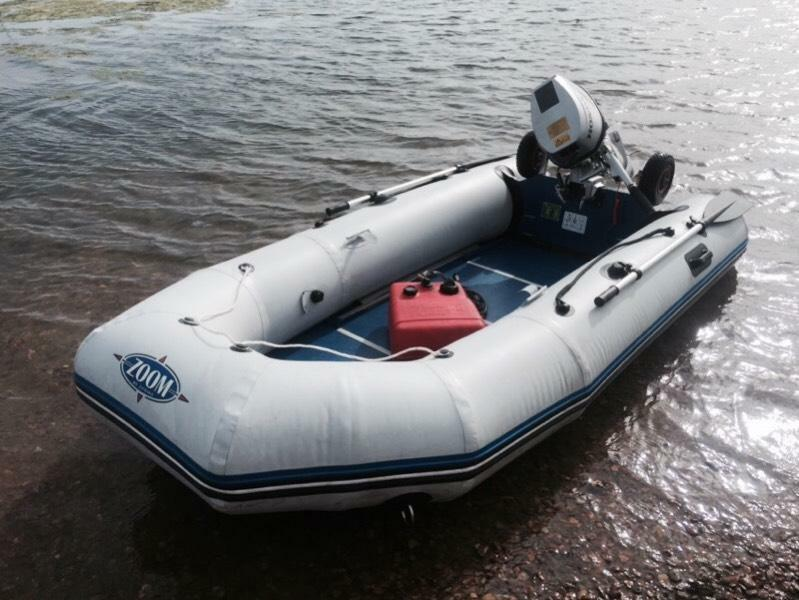 Zodiac zoom inflatable boat dinghy honda 10hp for 10 hp outboard jet motor