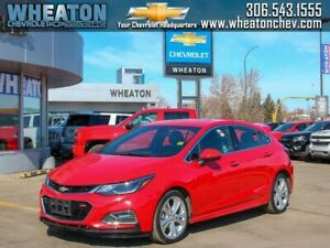 2018 Chevrolet Cruze PREMIER *RS PACKAGE-HEATED LEATHER-REMOTE S