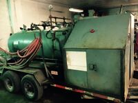 Commercial culvert steamer