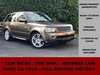 2010 Land Rover Range Rover Sport 3.6 TDV8 HSE, FACELIFT, NARA BRONZE,