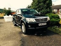 Toyota Hilux Invincible 2013 double cab