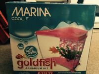 Marina Cool 7 Aquarium (1.77 Gal/6.7 L) (Fish Tank)