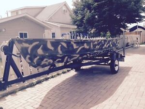 14' Boat with 15 Hp Yamaha Outboard