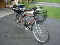 450W 48V Brushless / Brushed Mid Drive Electric Bike Kit on Sale