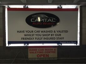 Valeting staff needed asap