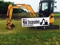 Mini Excavator for Hire !!