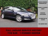 2013 (63) Jaguar XF 2.2D LUXURY AUTO SPORTBRAKE, BLUE, DIESEL, TOW BAR, ALLOYS