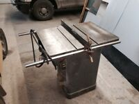 Rockwell commercial table saw