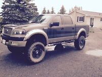2005 f150 lariat lifted