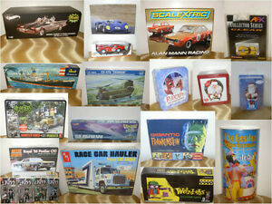 Model Slot Doll Figure Kit Car Truck Orniment Collection lot
