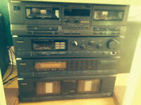 A vendre Systeme stereo complet SANSUI