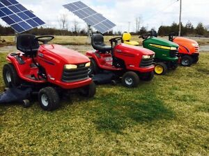 $$ CASH $$ for your unwanted lawn tractor!