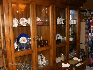 hutch and display cabinet by Stanley