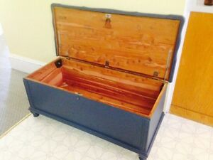 Solid Cedar Lined Chest / Blanket Box by Lane Chests
