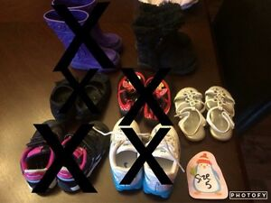 Toddler girl shoes sizes 5-9